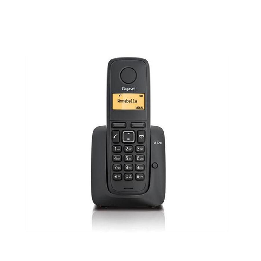 Gigaset A120 Telsiz (Dect) Telefon Siyah