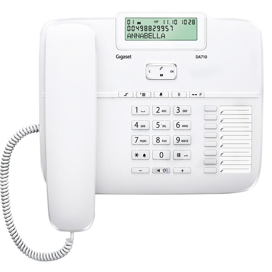 Gigaset DA710 Kablolu Telefon Beyaz