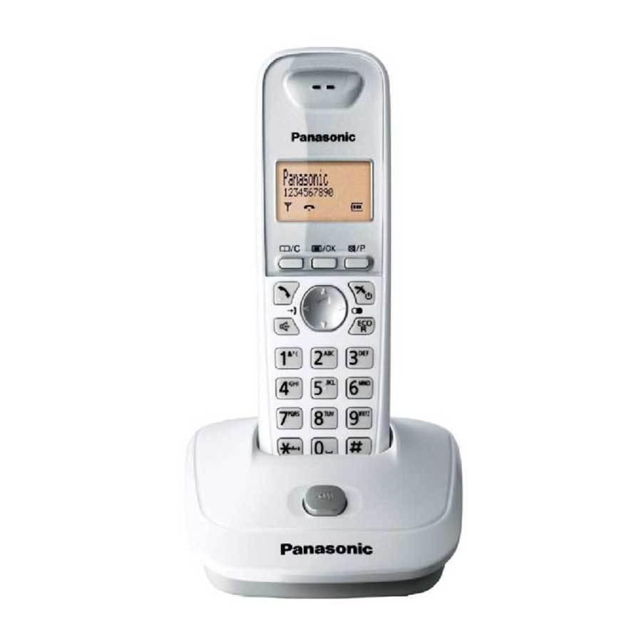 Panasonic KX-TG 2511 Telsiz (Dect) Telefon Beyaz