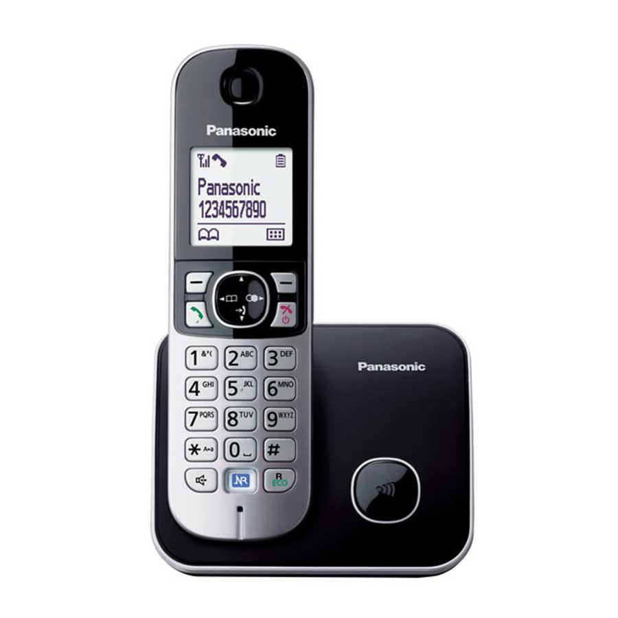 Panasonic KX-TG 6811 Dect Telefon Siyah