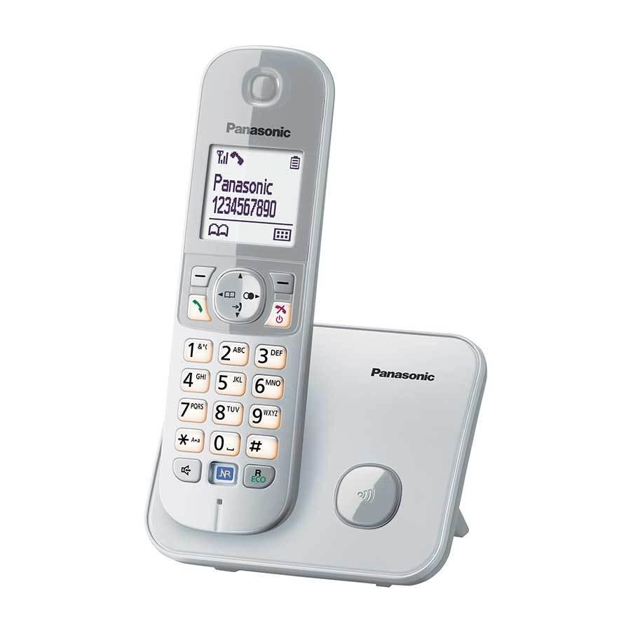 Panasonic KX-TG 6811 Dect Telefon Gümüş